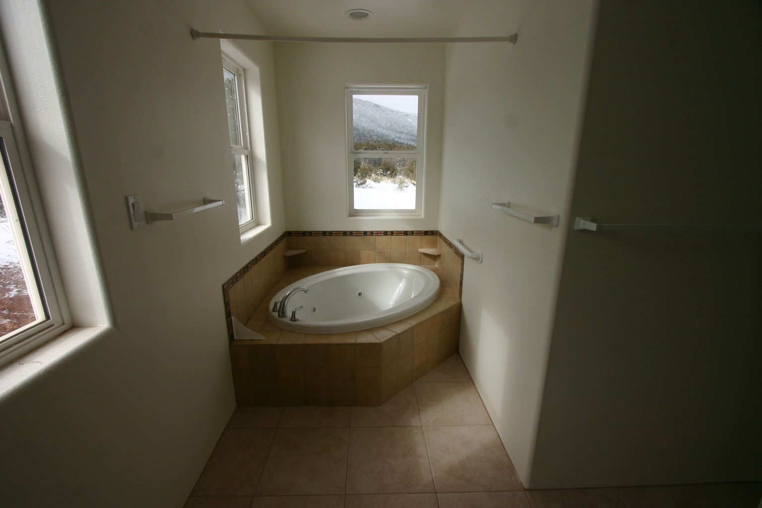 Garden tub in Master Bath